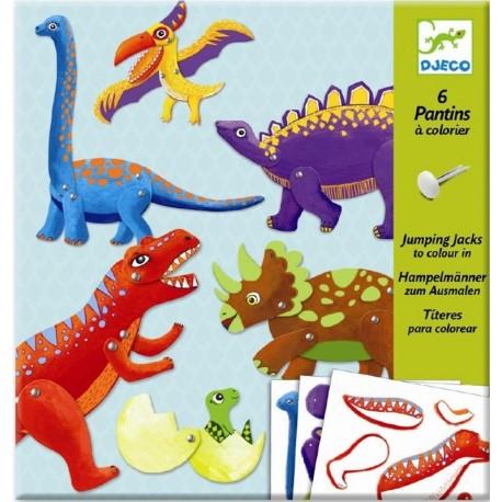 Títeres Dinosaurios