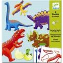 Títeres Para Colorear Dino