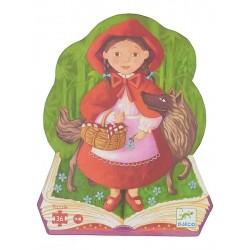 Puzzle Silueta La Caperucita Roja