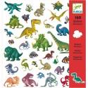 Pegatinas Dinosaurios