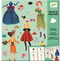 Stickers & Paperdolls Moda a Tope