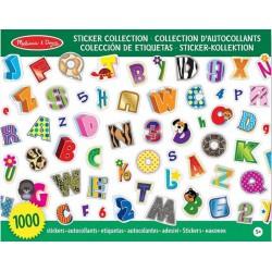 Pegatinas Alfabeto y Numeros