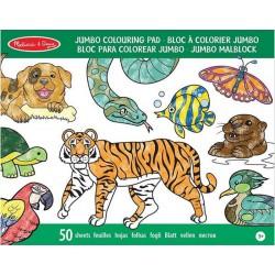 Bloc Gigante para Colorear Animales