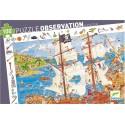 Puzzle Observación Piratas