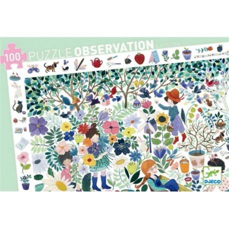 Puzle Observación 1000 Flores
