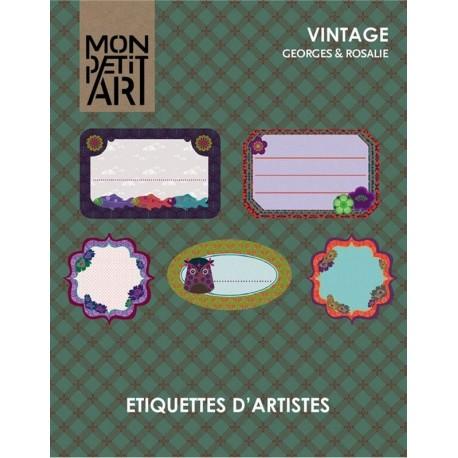 Etiquetas de Artistas Vintage