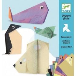 Origami Fácil Animales Polares