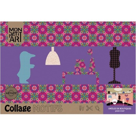 Cuaderno Collage Motifs Boutiques