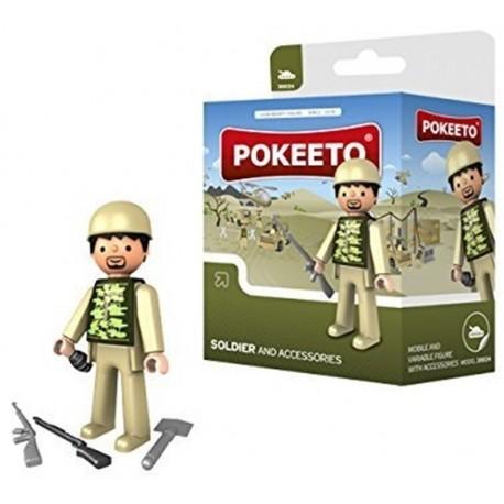 Pokeeto Soldado + Accesorios