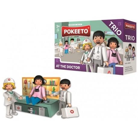 Pokeeto Trío En el Doctor