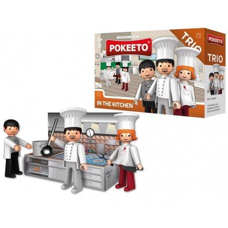 Pokeeto Trío En la Cocina + Accesorios