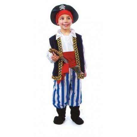 Disfraz Pirata 3/4 Años