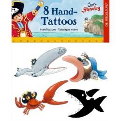 Tatuajes Mano Sharky