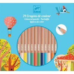 24 Lápices de Colores