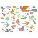 Stickers Bling Bling Birds