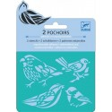 Miniplantillas Pájaros