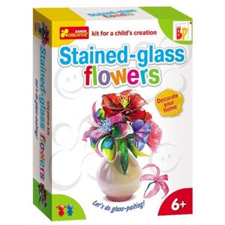 Flores Vidrieras