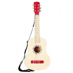 Guitarra Española Roja