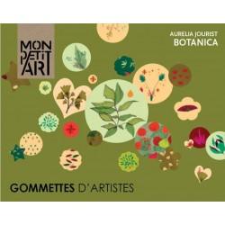 Gomets de Artistas Botanica