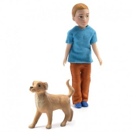 Xavier y su Perro
