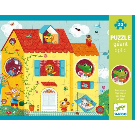 Puzzle Gigante Optic La Casa