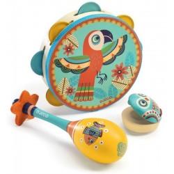 Set de 3 Instrumentos animambo