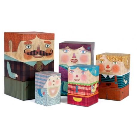 Box Family Matrioshka