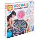 Sidewalk Mandalas con Tizas