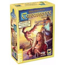 Carcassonne Expansión La Princesa y el dragón