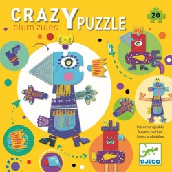 Crazy Puzzle Plum'zules