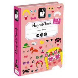 Magnetibook Crazy Face Chicas