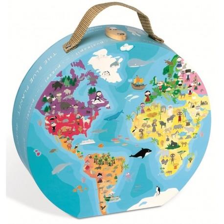Puzzle Planeta Azul
