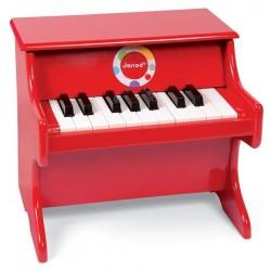 Piano Confetti Rojo