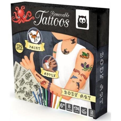 Kit Tatuajes Body Art