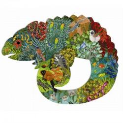 Puzzle Art Chameleón