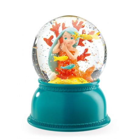 Lámpara Bola de Nieve Sirenita