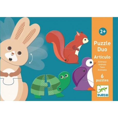 Puzzle Dúo Articulo Animales