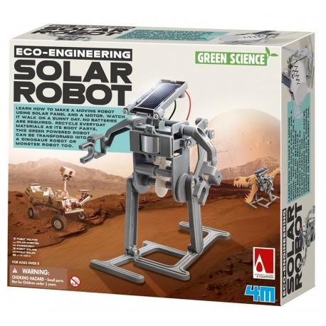 Green Sciencie Robot Solar