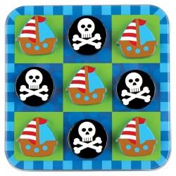 3 En Raya Pirata Magnético