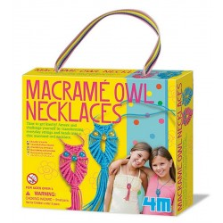 Macramé Owl Necklaces