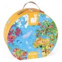 Puzle Gigante Atlas Mundial 300 piezas