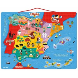 Puzzle Magnético España