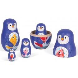 Pingüinos Matrioska