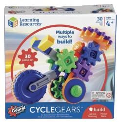 Set construcción Cycle Gears 30 piezas