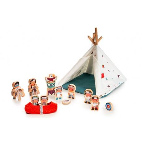Tribu de Indios y Tipi