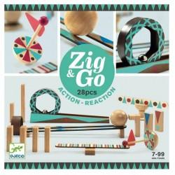 Construcción Zig & Go Action - Reaction 28 piezas