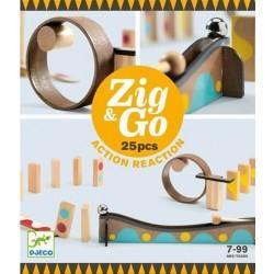 Construcción Zig & Go Action - Reaction 25 piezas