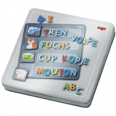 Caja de Juego Magnético Letras