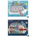 2 Puzzles de Crucero 100 y 200 Piezas