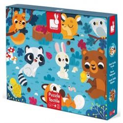 Puzzle Táctil Los Animales del Bosque